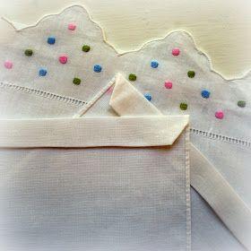 A Little Loveliness: Tea Towel Pillowcase Doll Dress Tutorial #pillowcasesandpillowcasedolls