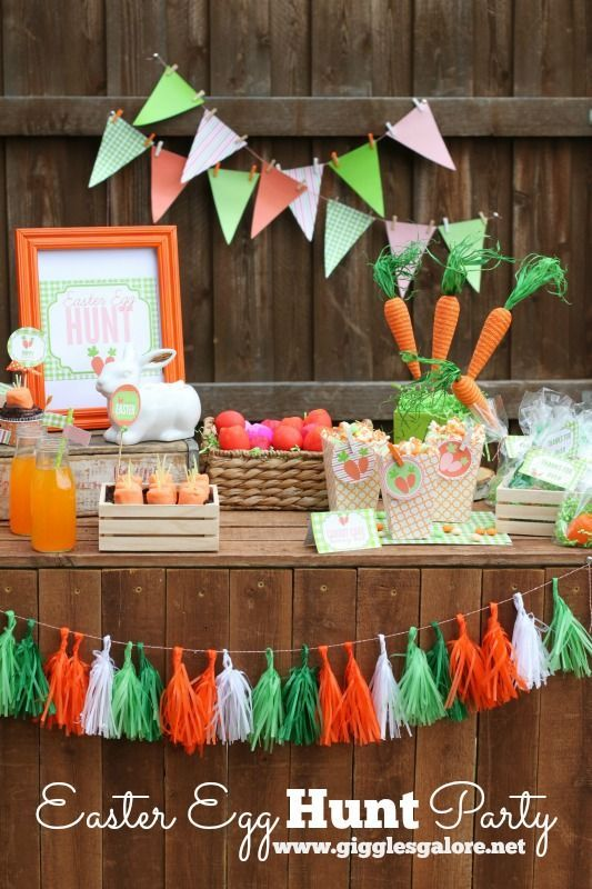 easter egg hunt party easter egg and party printables
