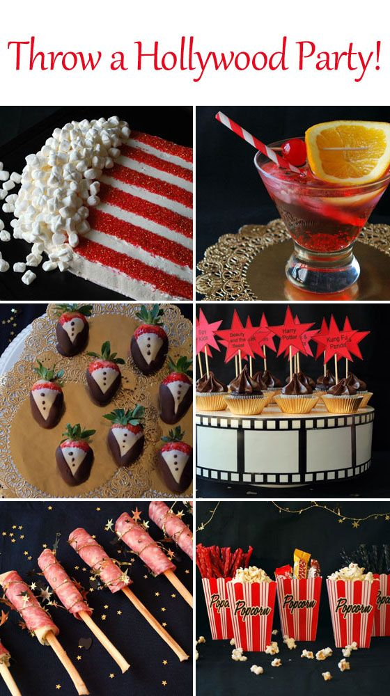 "Old Hollywood Strolling Table ""Such a fun idea for a big ...   Hollywood Theme Food Menu"