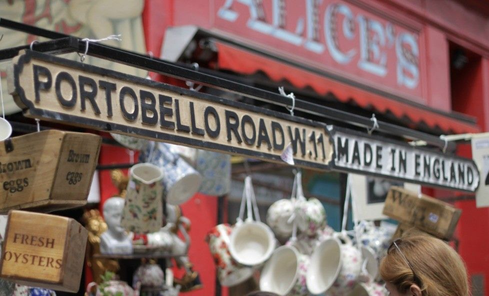 Top Flea Markets in Europe - Portobello road market - European Best Destinations