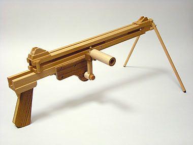 Ogg Craft Rubber Band Gun P504 46 Rounds Toys