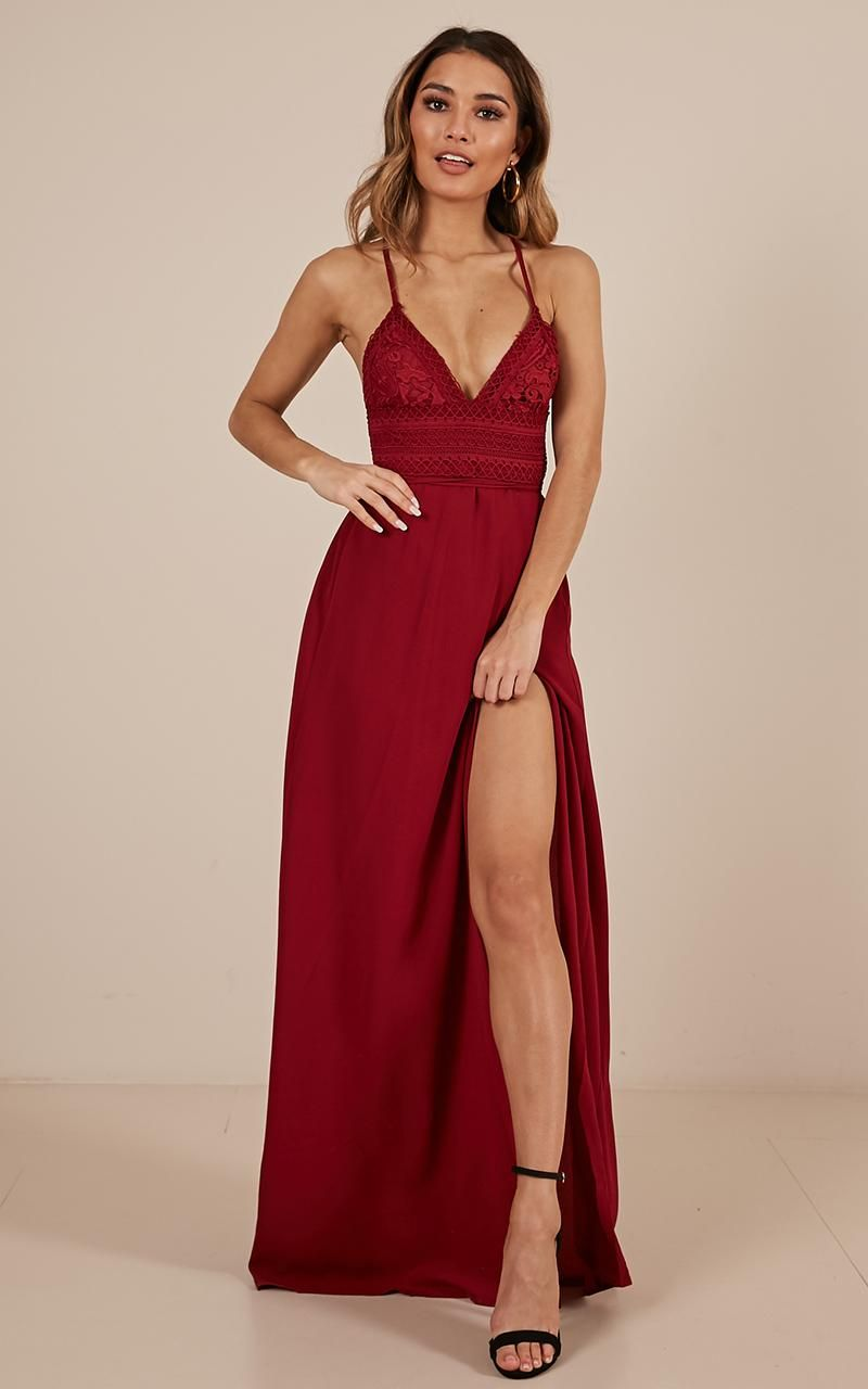 Running Free Maxi Dress In Wine Showpo Maxi Dress Formal Year 10 Formal Dresses Maxi Dress [ 1280 x 800 Pixel ]