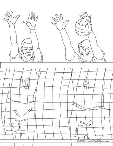 Volleyball coloring pages Color this sport coloring sheet with - new coloring pages ronaldo