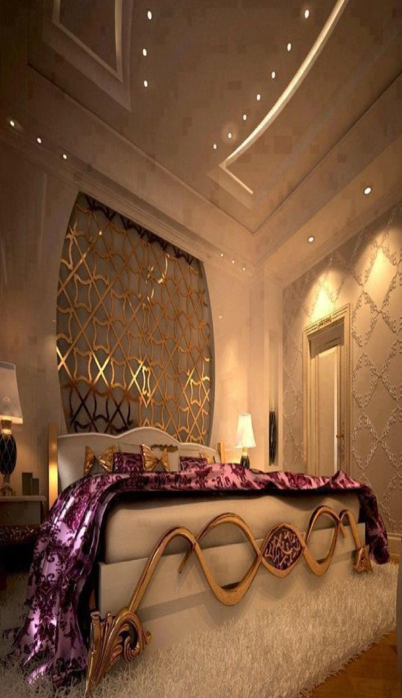 Luxury Bedrooms for a romantic woman #homedecorideas # ...