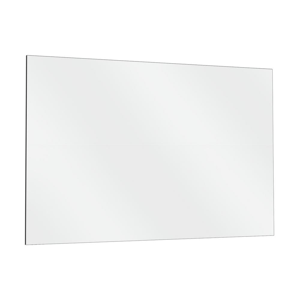 Fab Glass And Mirror 36 In X 72 In Single Activity Frameless