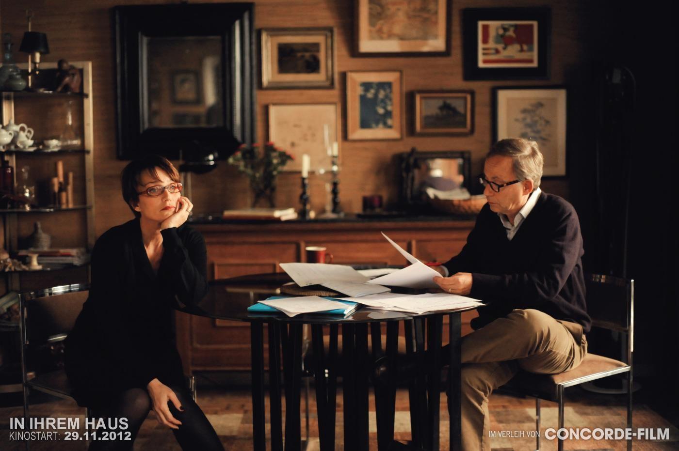 Jeanne (Kristin Scott Thomas) beginnt sich von Germain (Fabrice Luchini) zu entfernen.  © 2012 Concorde Filmverleih GmbH