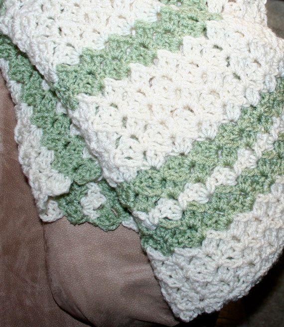 Crochet Blanket Pattern Easy Throw Pattern Child / Adult Textured ...