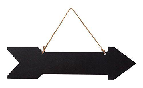 Hanging Chalkboard Direction Arrow Sign Chalk Black Board ...  |Chalkboard Arrow Sign Plant