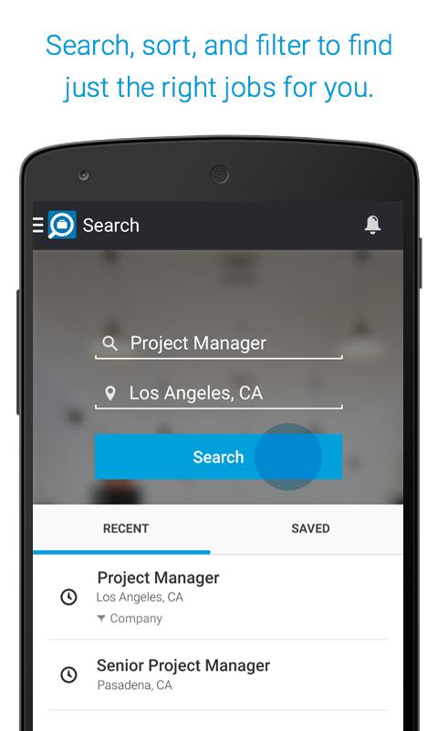 linkedin job search app screenshot - Linkedin Jobs Search Finding Jobs Using Linkedin