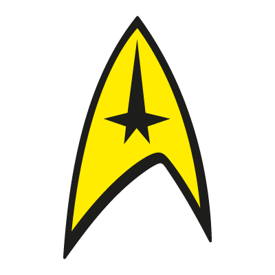 Star Trek Original Series Command Insignia Logo Vector Eps Free Download Star Trek Logo Star Trek Original Star Trek Original Series