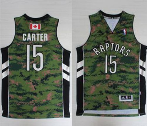 Raptors  15 Vince Carter Camo Pride Stitched NBA Jersey  3512d8e6e