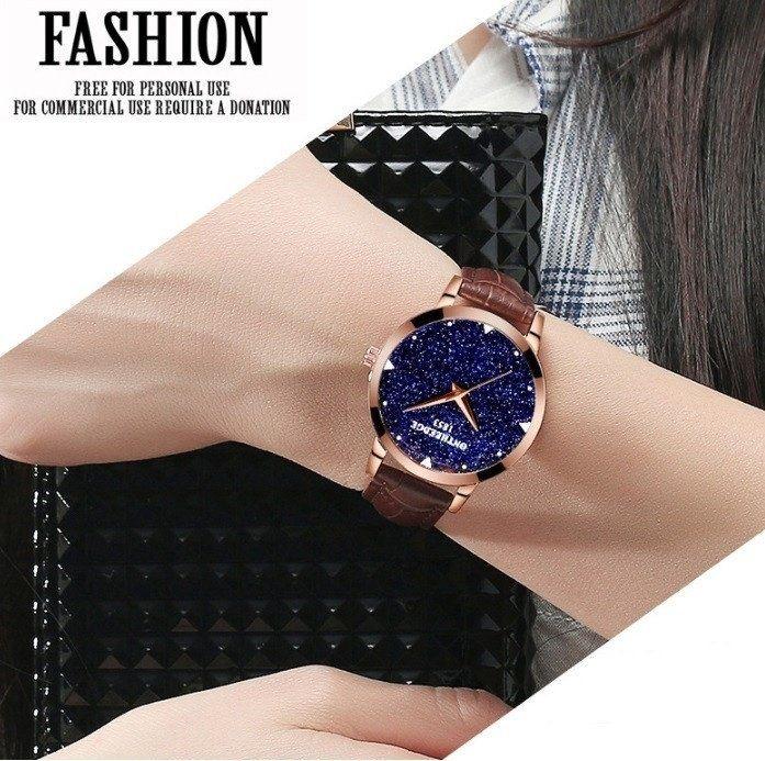 BIDEN 0127 Ladies Fashion Watches Simple 30m Waterproof Stylish Slim Luxury  High-end Shiny Dial Mesh Strap Casual Quartz Watch for Women Sale 1b16a52da8d