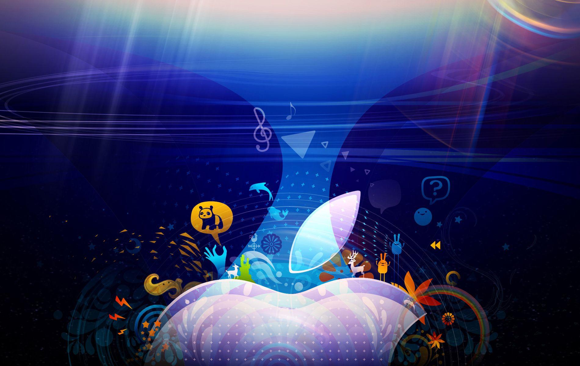My Colorful Snow Leopard By Chicho21net Deviantart Com Retina Wallpaper Imac Wallpaper Mac Wallpaper
