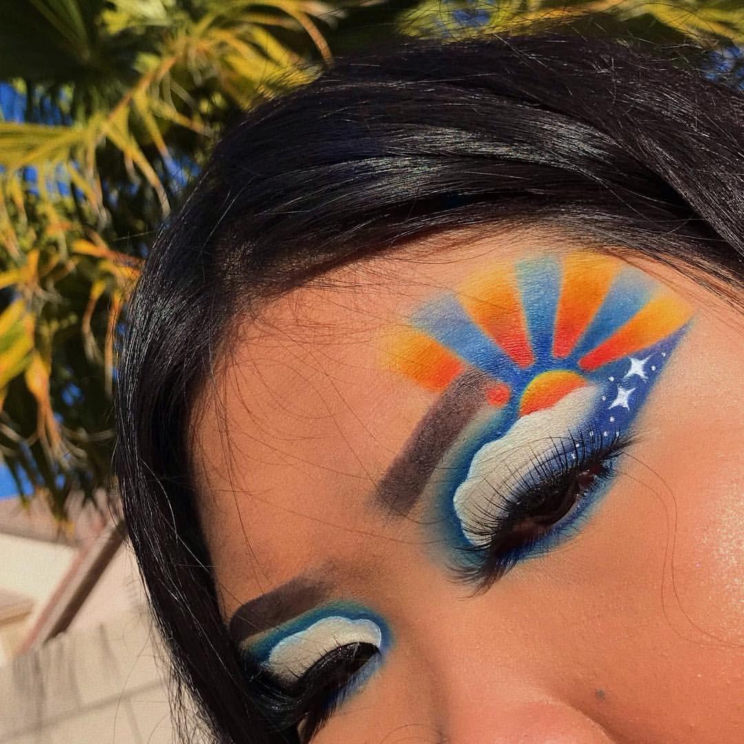 instagram makeupbyjennicaa Eye makeup, Makeup, Warrior