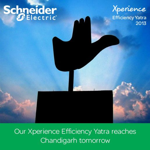 The Schneider Electric Xperience Efficiency Yatra is in the City of Lakes, Ahmedabad. Inviting all CIO's, CTO's, Network Managers, Government Sustainability Agencies, Architects and builders to The Courtyard by Marriott to find the solutions to their energy efficiency needs. Hoping to see you there. www.schneider-electric.com/xe50city/in