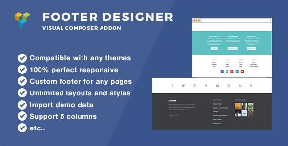 Ultimate Footer Builder - Addon WPBakery Page Builder (formerly ...