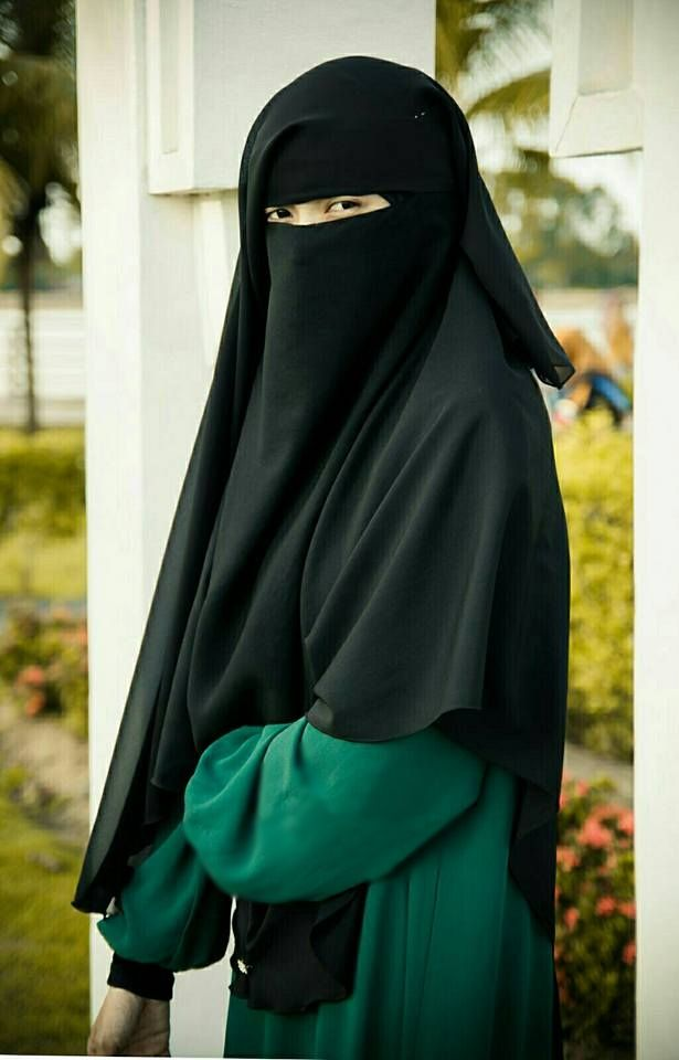 Beautiful Asian Niqabi  8e21f2086b