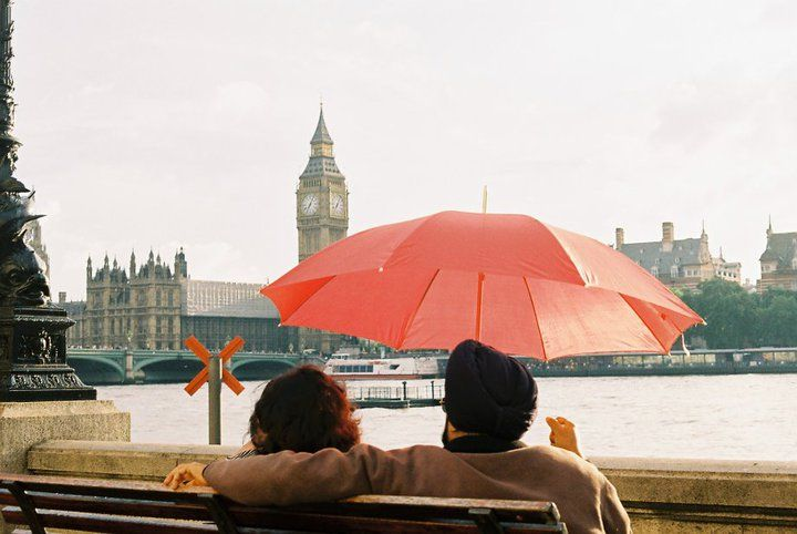 Christian and Ana in London