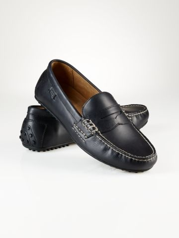 8ef13f2bc67 Leather Wes Penny Loafer - Polo Ralph Lauren Casual - RalphLauren ...