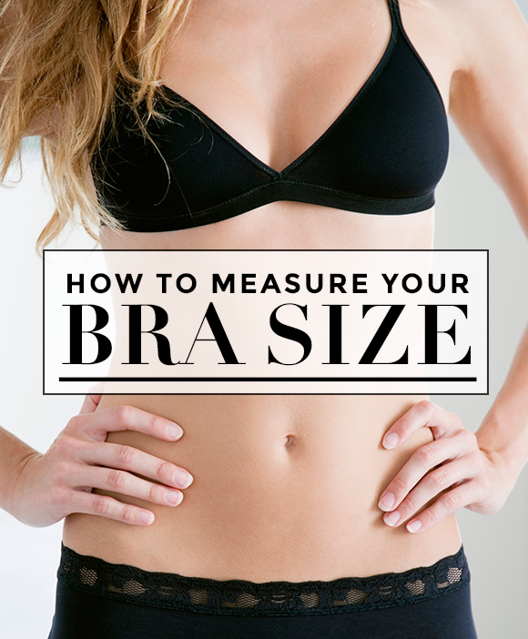 How To Measure Your Bra Size at Home in 5 Easy Steps ...