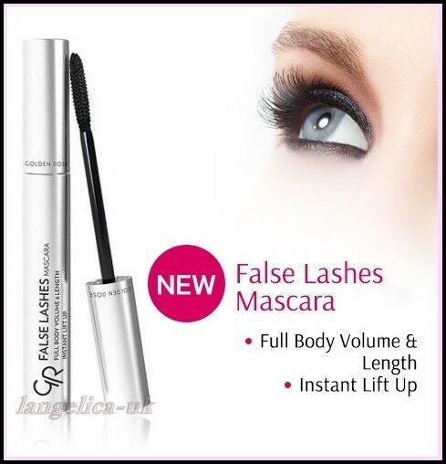 dc96c46ebfa Golden Rose Mascara FALSE Lashes Lengthening & Volume Instant Lift Up BLACK# FALSE#Lashes#Mascara