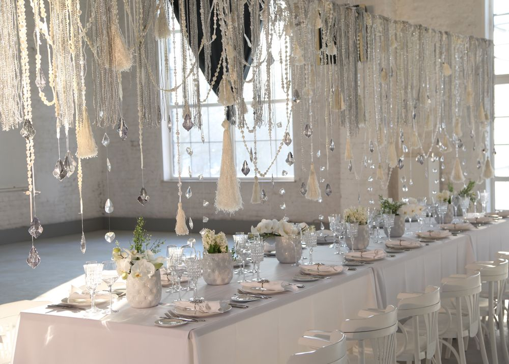 Winter wedding decorations white http augumaja for Winter themed wedding centerpieces