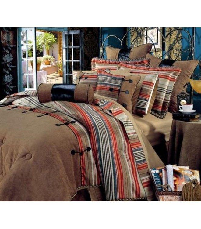 rustic comforter sets king Western Rustic Comforter Set King or Queen | Home