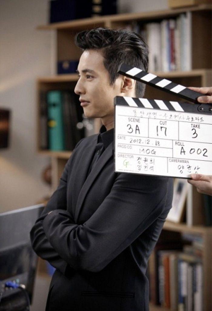 ★Won Bin★at the Studio | Won bin, Drama songs, Autumn in ...