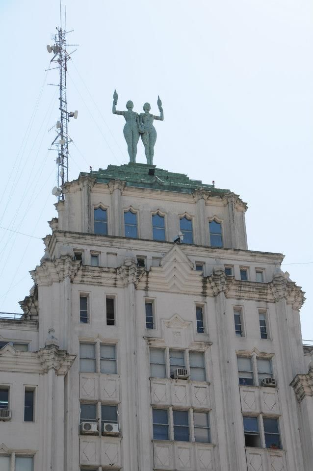 Palacio Minetti - Córdoba 1452. Rosario, Argentina Art Deco Building