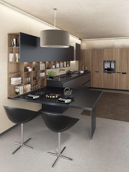 Lain FiloLain Multisystem di Euromobil | Cucine a parete | Cucine ...