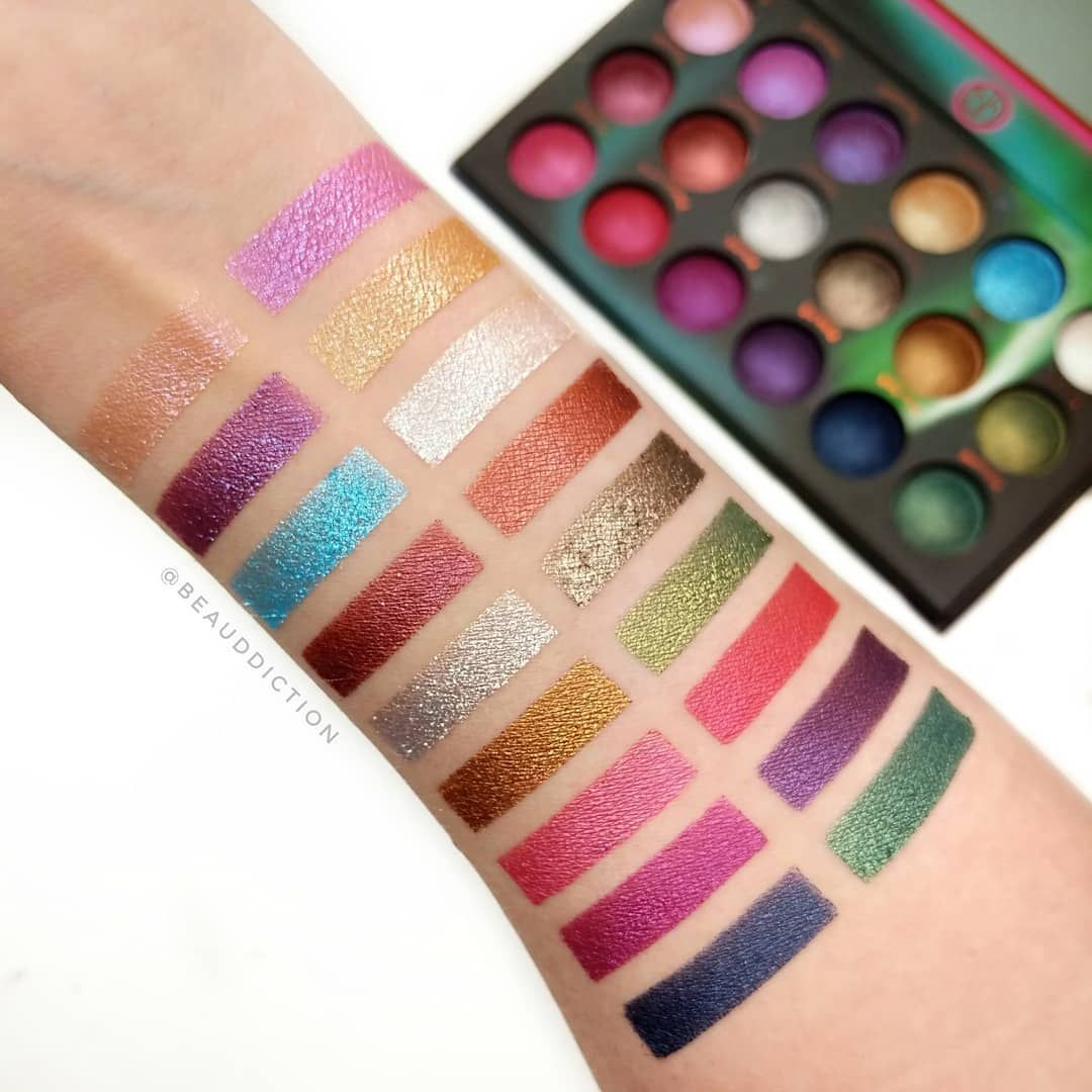 The new bhcosmetics Aurora Lights Palette (on sale for