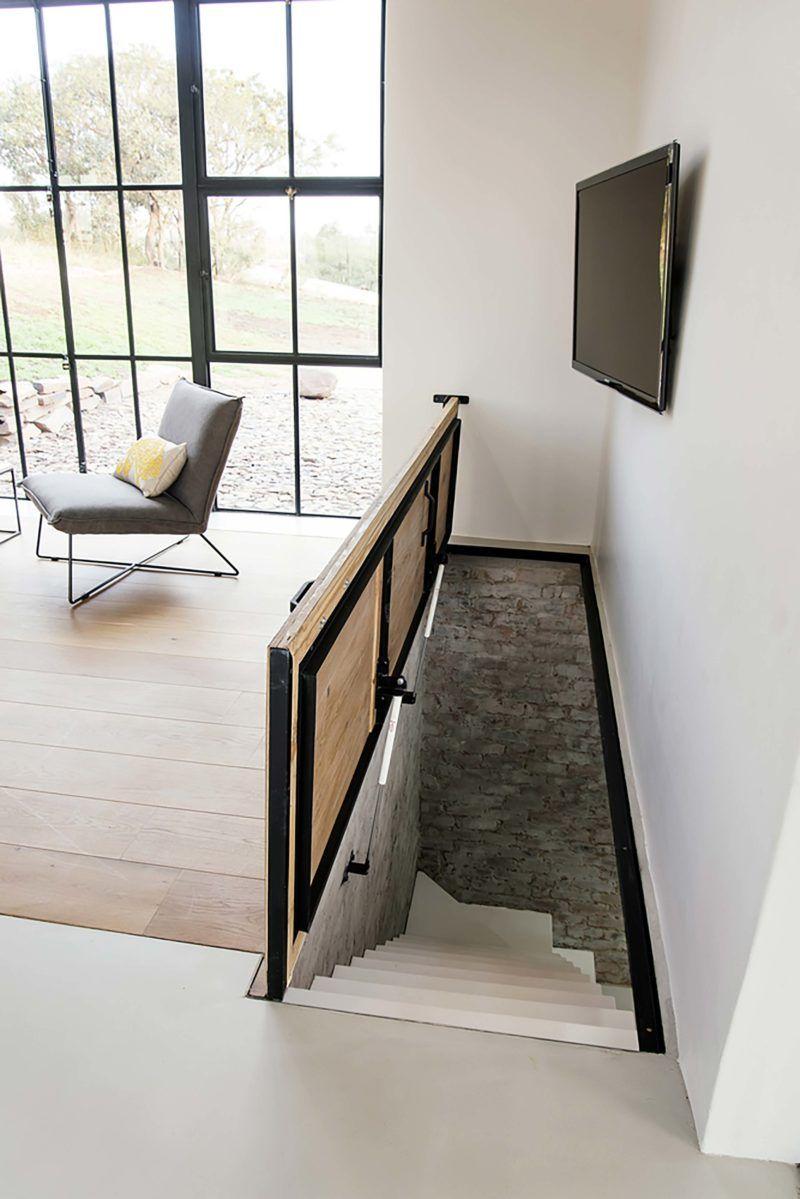 Photo of Style industriel pour une maison d'architecte