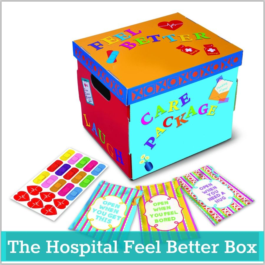 A Care Package Idea for Hospital Patients (With images
