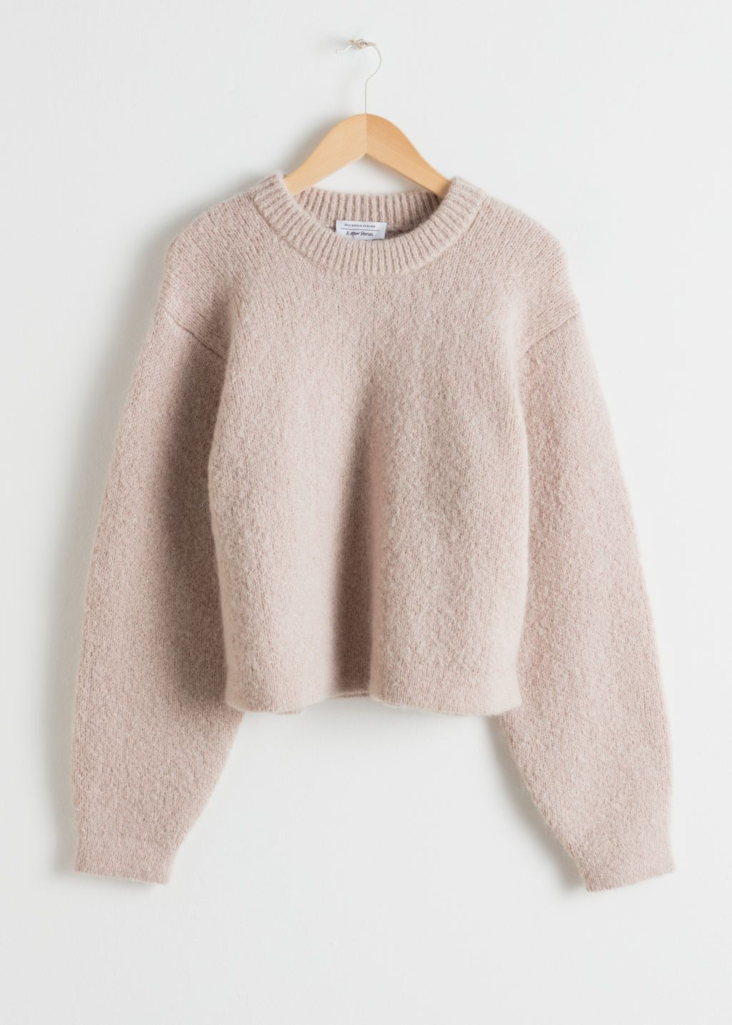 2c7732b19e2015 Length of sweater: / (size S) Model wears: S. Chunky Jacquard Knit Sweater  - Beige - Sweaters - & Other Stories