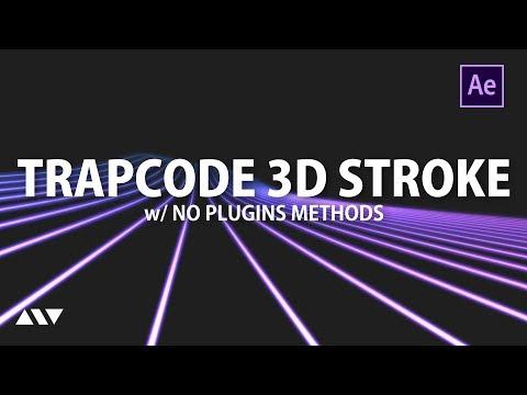 360 After Effects Tutorial Trapcode 3d Stroke Stroke Youtube Edicion De Video Graficos Tutoriales