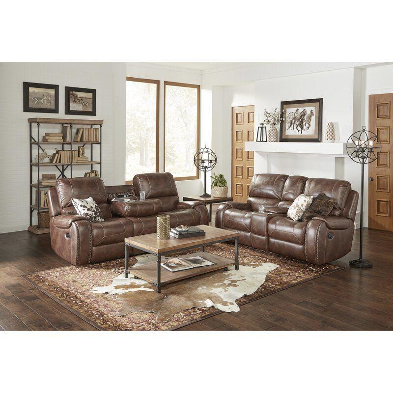 Philo 2 Piece Reclining Living Room Set In 2020 Living Room Sets Living Room Sets Furniture Spacious Sofa