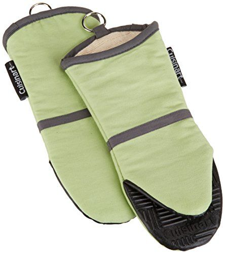 Cuisinart Oven Mitt With Non Slip Silicone Grip Heat Resistant To 500 F Green 2 Pack Cuisinart Http Www Amaz Cuisinart Oven Silicone Oven Mitt Oven Mitts
