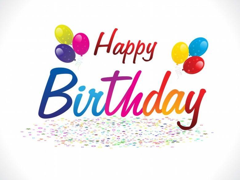 abstract happy birthday background I Happy Birthday Pinterest - happy birthday word template