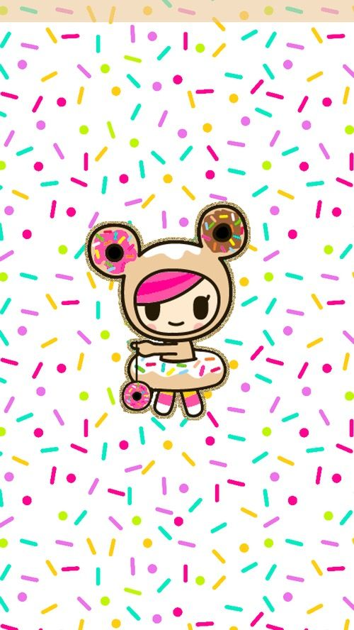 iphone wall tjn - Tokidoki Donutella Coloring Pages