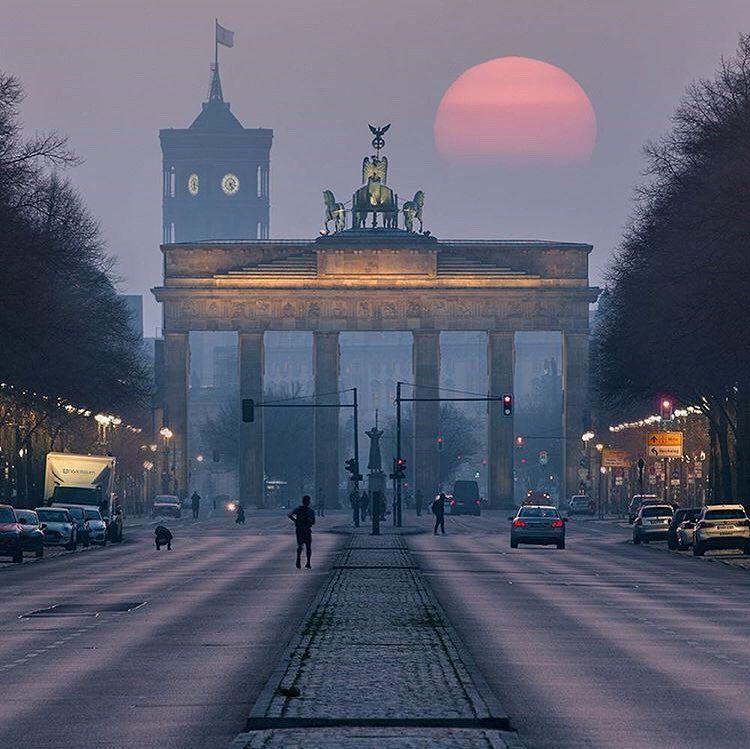 Berlingram Patrick Noack Tor Des Frieden Brandenburger Tor Berlin Stadt Berlin Geschichte
