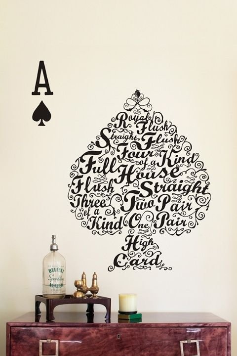 inspiration gallery #111 — mixed inspirations | for the home | poker