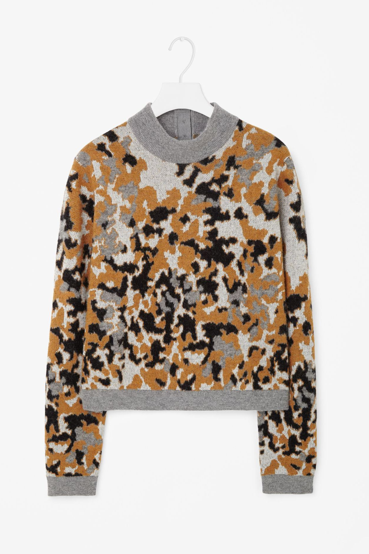 Mottled print jumper from COS
