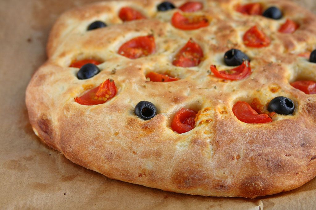 Фокача Pugliese   Food, Focaccia recipe, Recipes