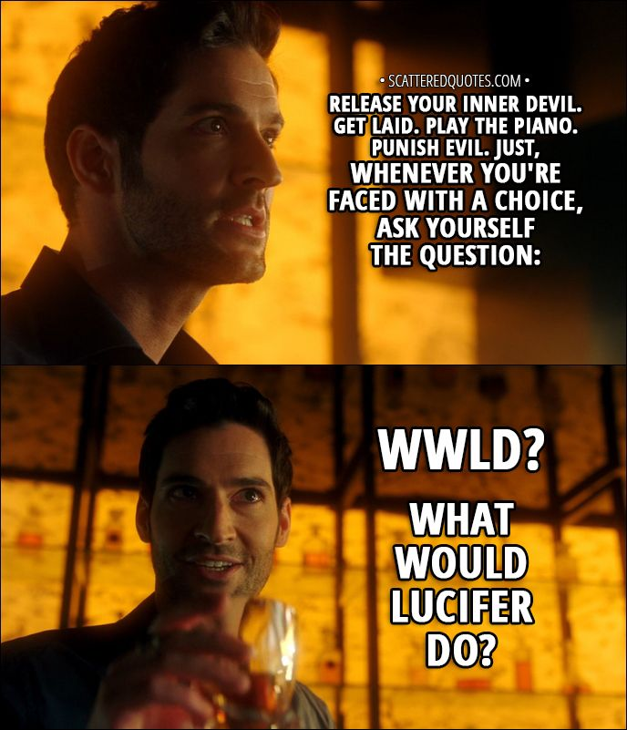 100+ Best 'Lucifer' Quotes (TV Show In 2019