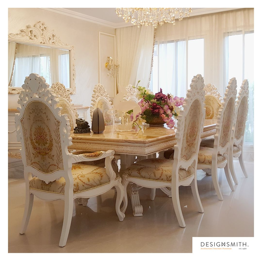 126 Custom Luxury Dining Room Interior Designs: Luxury Classic Dining Room Site: Private