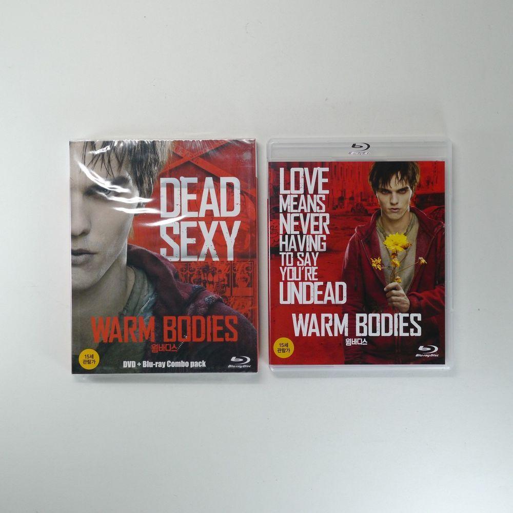 Warm Bodies Blu-ray [Korea Limited Edition, BD+DVD Combo