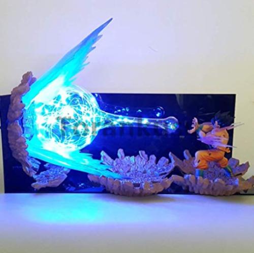 Son Goku Kamehameha Dragon Ball Z Action Figure Led Night Light Amazing Gift Dragon Ball Z Anime Dragon Ball Dragon Ball