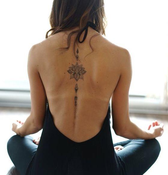 Tatuajes De Flor De Loto Que Te Traeran Abundancia Tatuajes De Yoga Tatuajes Tatuajes Femeninos Para La Espalda