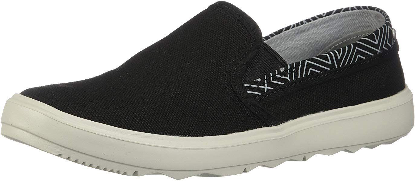 afacafbc2209c Amazon.com | Merrell Women's Around Town City Moc Canvas Sneaker, Black, 7  Medium US | Fashion Sneakers