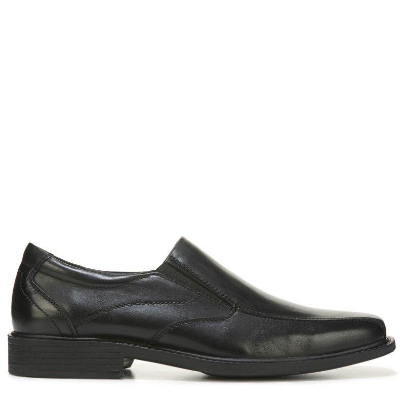 Eastland Men's Stuyvesant Medium/Wide Bicycle Toe Slip On Shoes (Black  Leather)